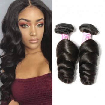 Malaysian Virgin Hair Loose Wave 4Bundles Beautyhairs