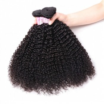 Indian Kinky Curly 4 Bundles Sew In Remy Hair Weave Beautyhairs