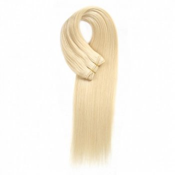 Lightest Blonde 613# Straight Colored Weave Virgin Hair Beautyhairs