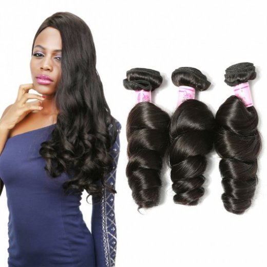 Malaysian Virgin Hair Loose Wave 4Bundles Weave Beautyhairs