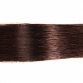 U Tip Fusion Brown Color 2# Remy Straight Hair Extensions Beautyhairs