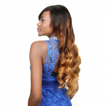 Peruvian Ombre Hair Weave Body Wave Human Hair 3Bundles Beautyhairs