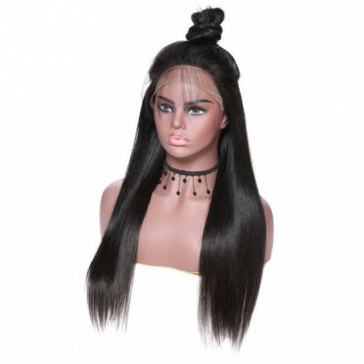 180% Density Straight Lace Front Wigs 100% Human Hair Beautyhairs