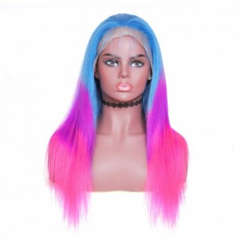 Straight 13x4 Lace Front Human Hair Wigs TBPP Color 150% Density Beautyhairs