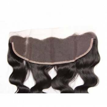 Lace Frontal Closure with 4Bundles Malaysian Hair Natural Color Beautyhairs