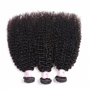Peruvian Kinky Curly Weave 3 Bundles Remy Hair Beautyhairs