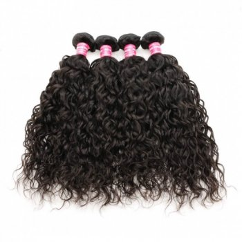 Malaysian Virgin Hair Water Wave 4 Bundles Deals Beautyhairs