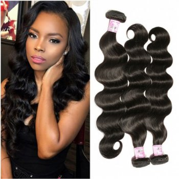 Peruvian Human Hair 4Bundles Virgin Unprocessed Body Wave Hair Natural Color Beautyhairs