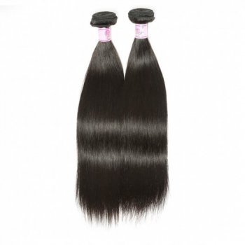 Straight Human Hair Weave Remy Hair 1Bundle 8-30 Inch Beautyhairs
