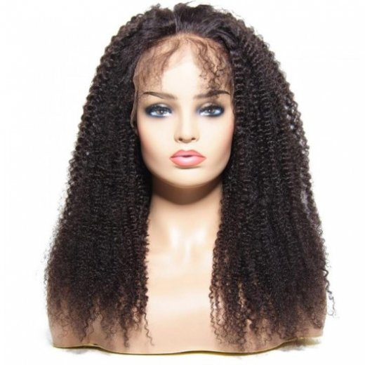 Afro Kinky Curly Human Hair Lace Front Wigs 8-24Inch Beautyhairs