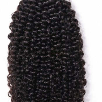 1 Piece Kinky Curly Hair Weave 100% Human Hair Beautyhairs