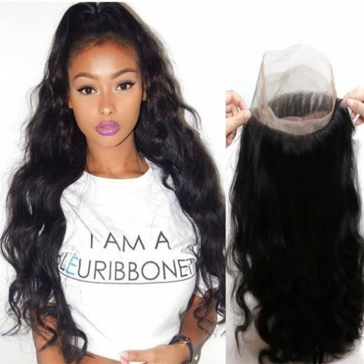 360 Lace Frontal Closure Body Wave Human Hair Beautyhairs