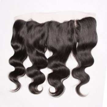 Peruvian Body Wave 13*4 Lace Frontal Closure With 3Bundles Beautyhairs