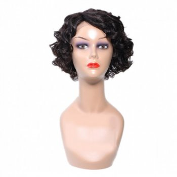 Pre-plucked Natural Side Part Short Wave Bob Wig Beautyhairs