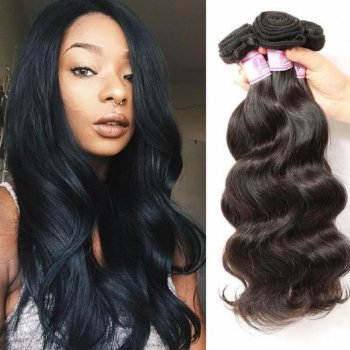 Indian Body Wave 4Bundles Human Virgin Hair Weft Beautyhairs
