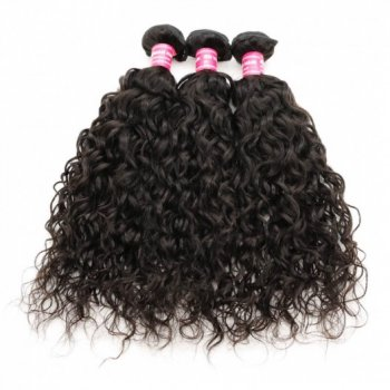 Brazilian Water Wave Human Hair?3 Bundles Natural Color Beautyhairs