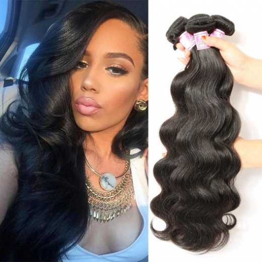 Indian Body Wave 3Bundles 8-30 Inches Human Hair Weave Beautyhairs