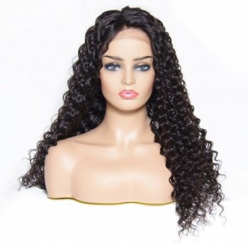 Best Selling Lace Front Deep Wave Wigs Human Hair 4 Colors Beautyhairs