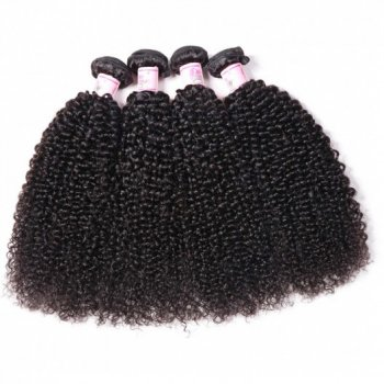 Brazilian Kinky Curly Hair 4 Bundles Deals 100% Human Hair Beautyhairs