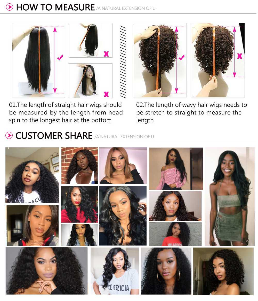 360 Lace Frontal Long Kinky Straight 150% Density Human Hair Wigs