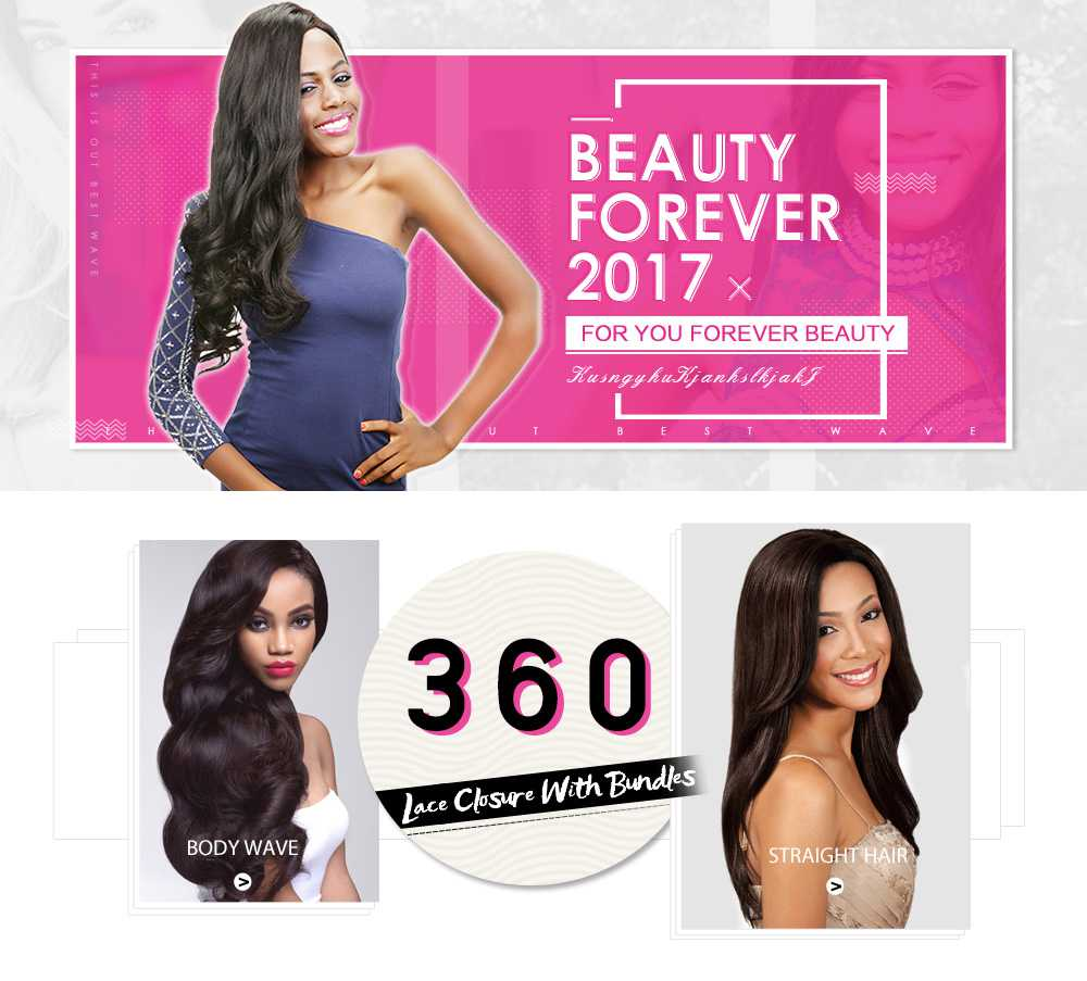 360 Lace Frontal Body Wave