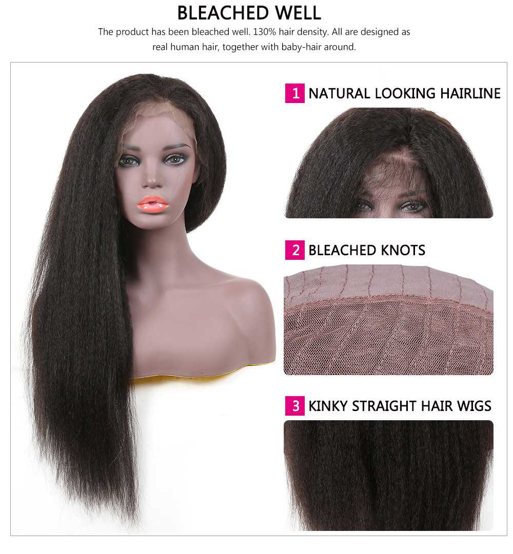 Best Kinky Straight Lace Front Wig